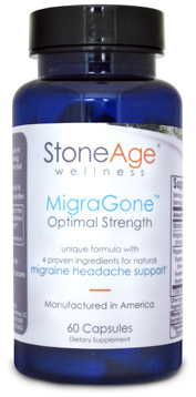 MigraGone bottle