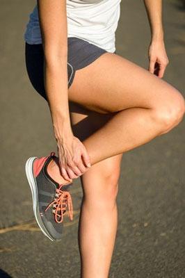 ankle injury