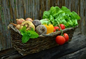 healthy living food vegetables